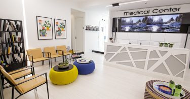 המרכז הרפואי בעיר ימים נתניה (צילום: Dental Medical Centers)